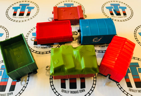 Cargo Pack 7 Pieces Used - Trackmaster - Totally Thomas Town