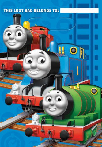 Thomas Loot and Gift Bags - 8 Pack - Totally Thomas Town