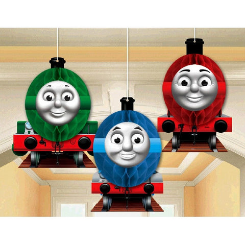 Thomas Honeycomb Decorations (3 Pieces) - Totally Thomas Town