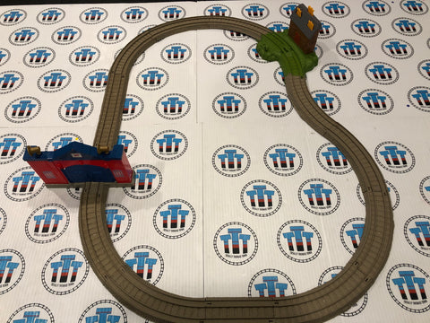 Fiery Flynn's Rescue Set Used - Trackmaster