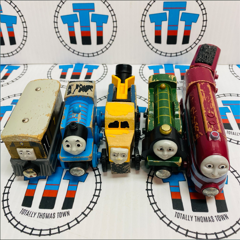 Thomas Train Value Wooden Pack Poor Condition