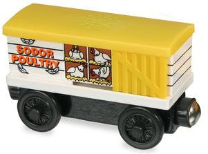 Chicken Car with Sound  Wooden - Used - Totally Thomas Town