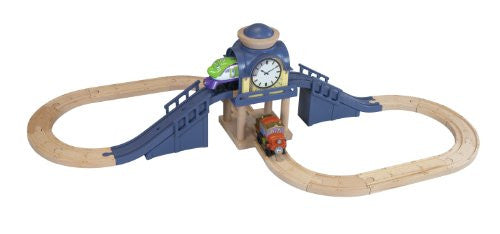 Chuggington Koko and Hodge's Clock Tower Set - Used - Totally Thomas Town