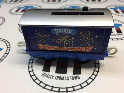 Fantastic Fireworks Pop-Up Car - Trackmaster - Totally Thomas Town