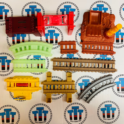 Assorted Trackmaster Newer Track Pack #1 Used - Trackmaster