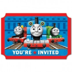Thomas and Friends Invitations - 8 Pack - Totally Thomas Town