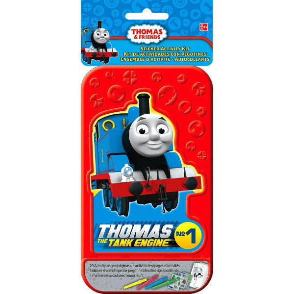 Sticker Activity Kit with Case - Totally Thomas Town