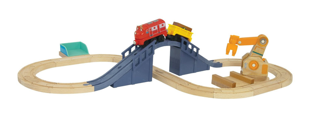 Chuggington Wilson's Lift & Load Figure 8 Set - New