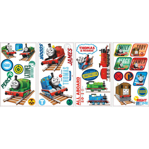 Thomas Peel & Stick Wall Stickers and Decals - Totally Thomas Town
