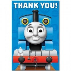 Thomas Thank You Cards - 8 Pack - Totally Thomas Town