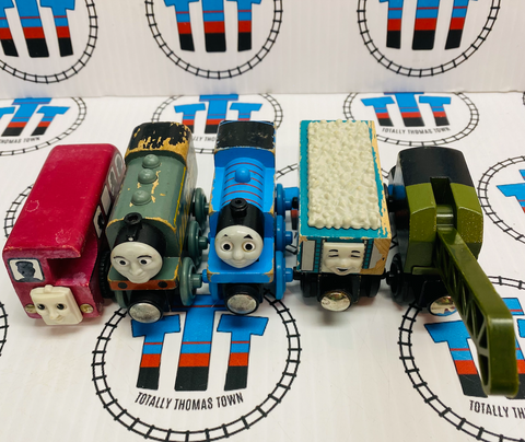 Thomas Train Value Wooden Pack Fair Condition