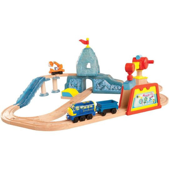 Chuggington Brewster's Icy Escapade Set - Used