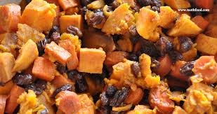 Sweet Potato w Raisins