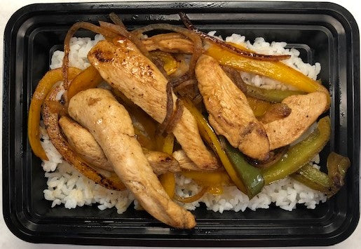 Fajita Chicken with Bell Peppers/Onions