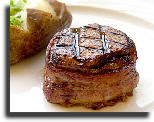 Filet Mignon - Bacon Wrapped
