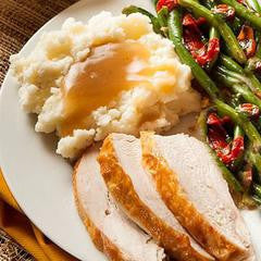 Turkey Dinner - Reheat & Eat