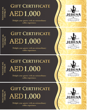 Gift card - Jebena Specialty Coffee