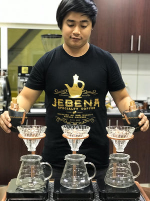 Gold Foil Tee Shirt - Jebena Specialty Coffee