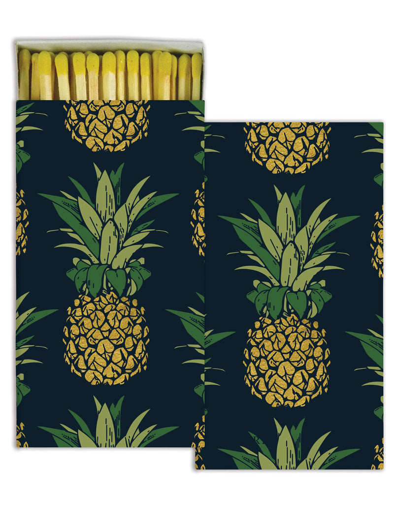 Pineapple Match Box