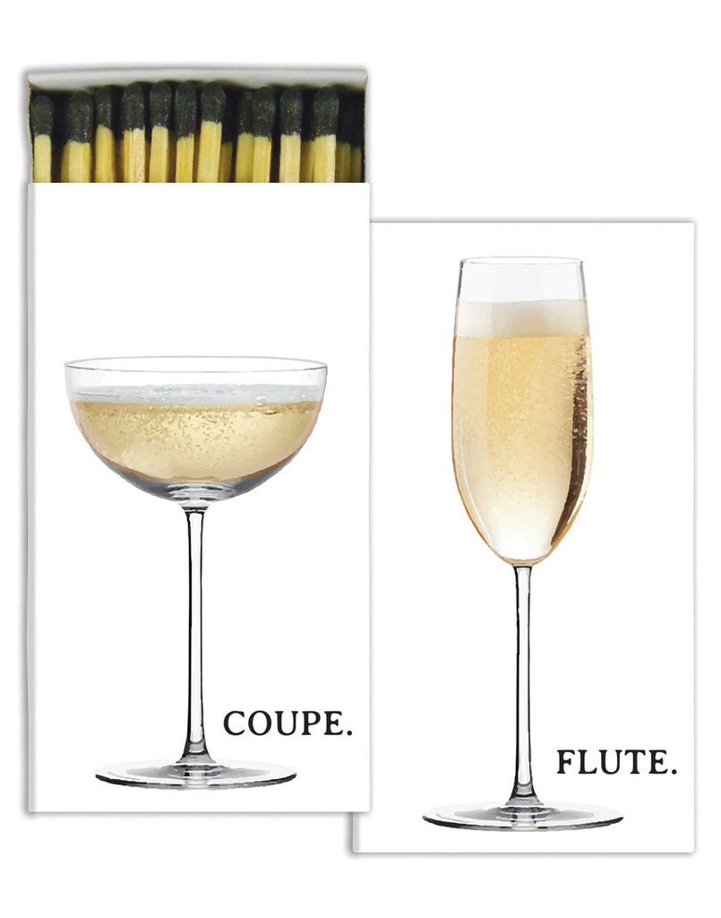 Flute and Coupe Match Box