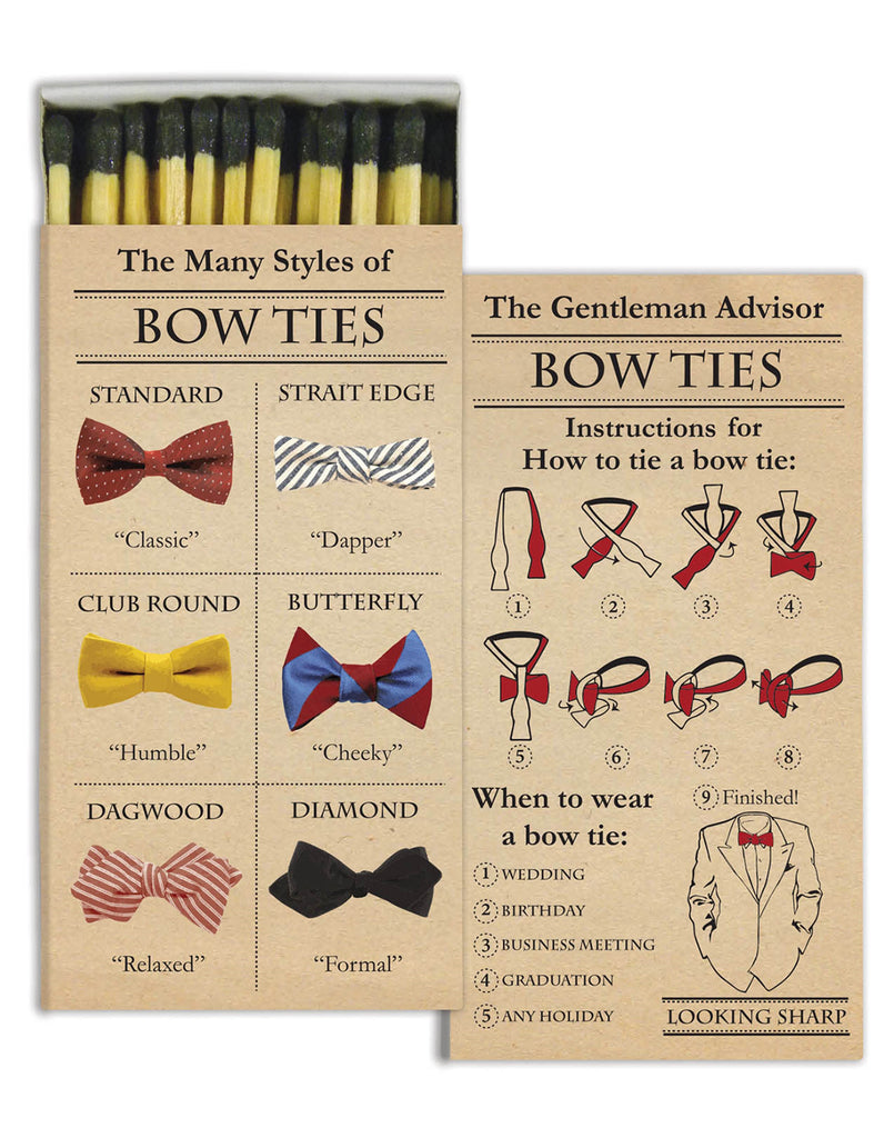 Bowties Match Box