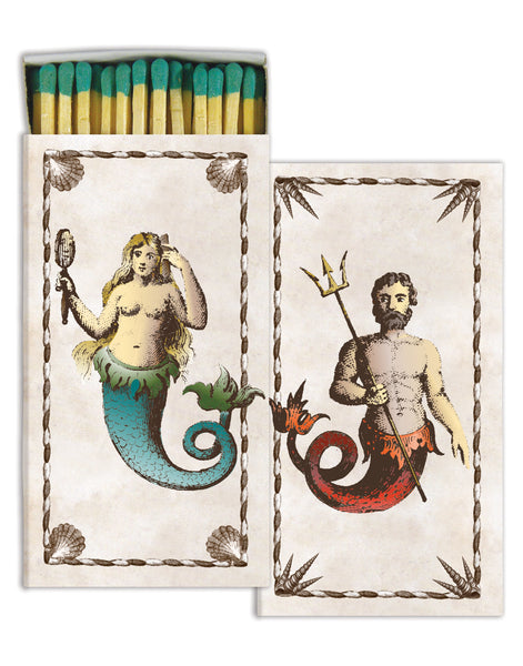 Mermaid Neptune Match Box