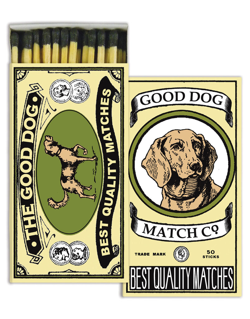 Good Dog Match Box