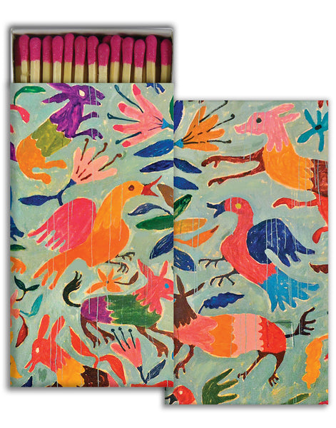 Garden Birds Match Box