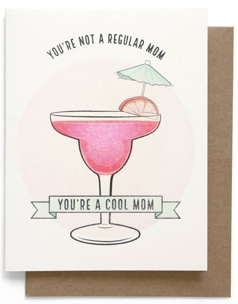 Cool Mom Drink Card