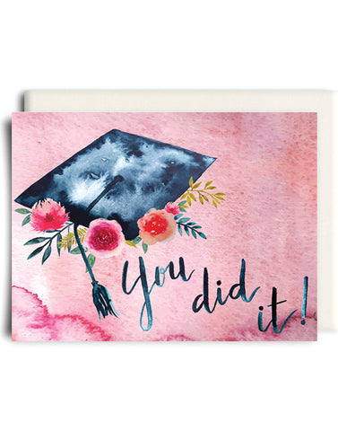 You Did It Grad Card
