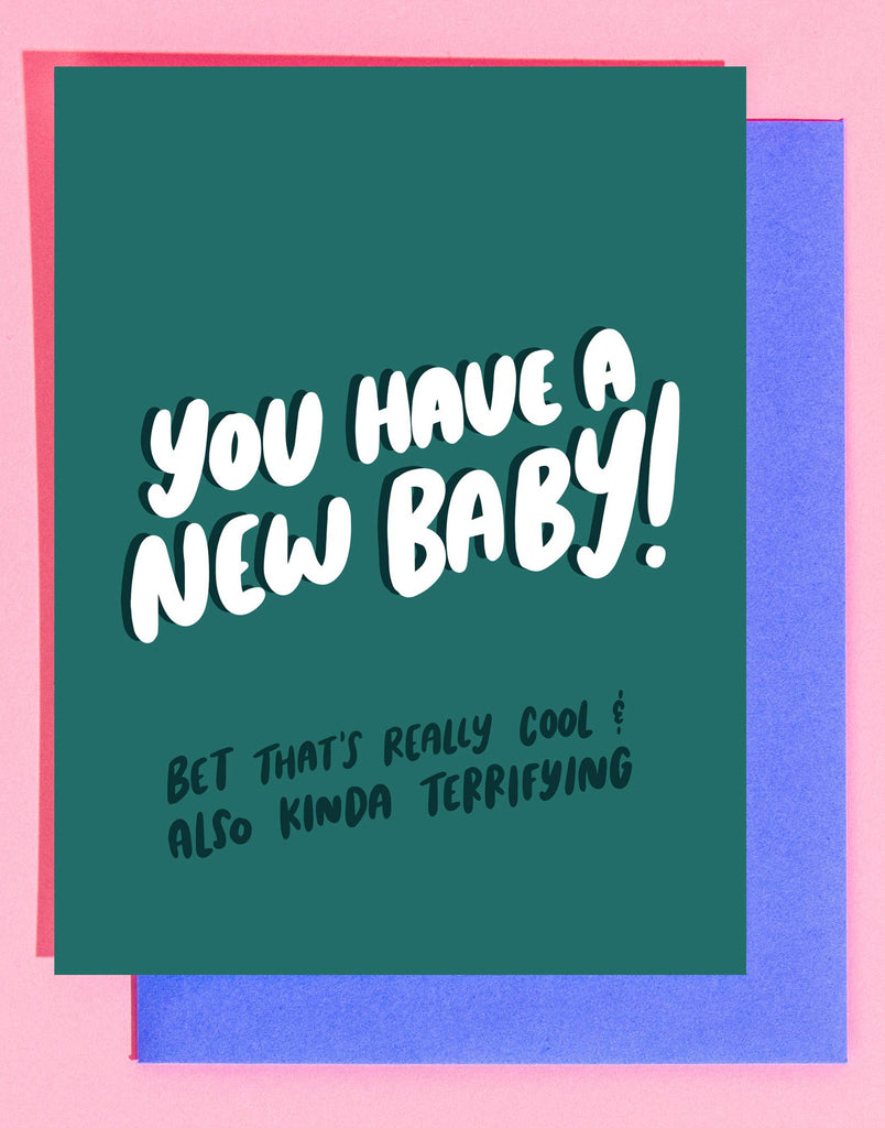 Terrifying Baby Card