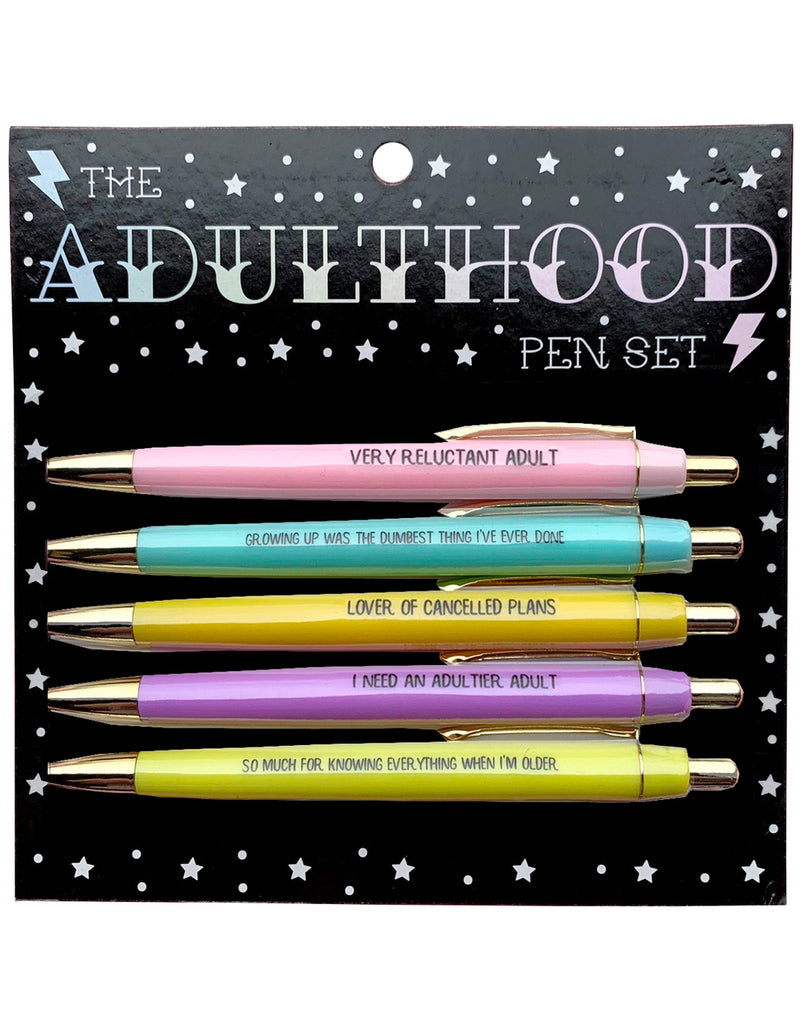 Adulthood Pen Set