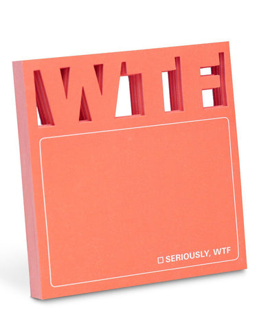 WTF Die-Cut Sticky Notes