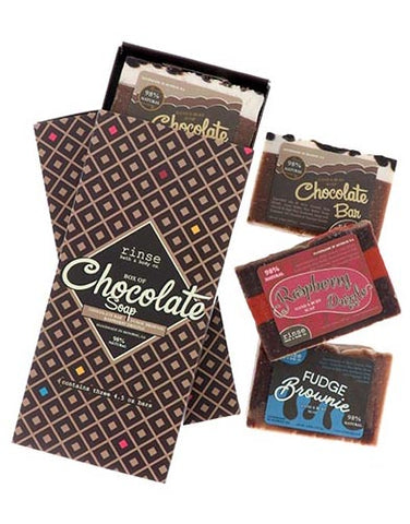 Chocolate Box Set of 3 Soaps