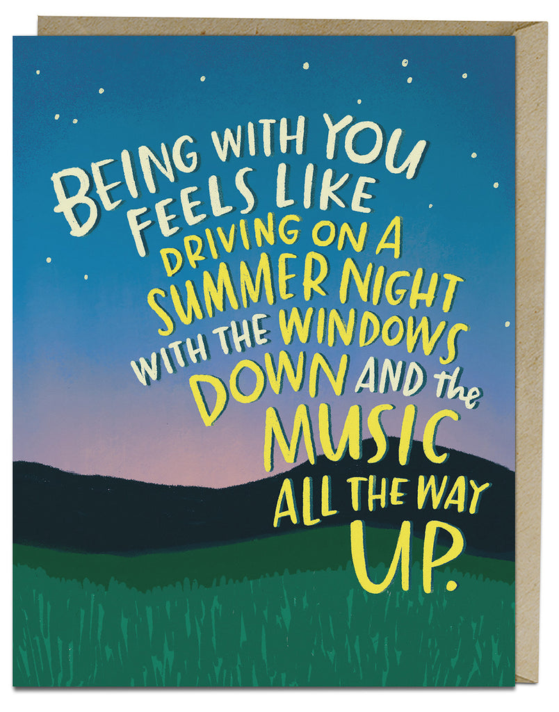 Summer Nights Card