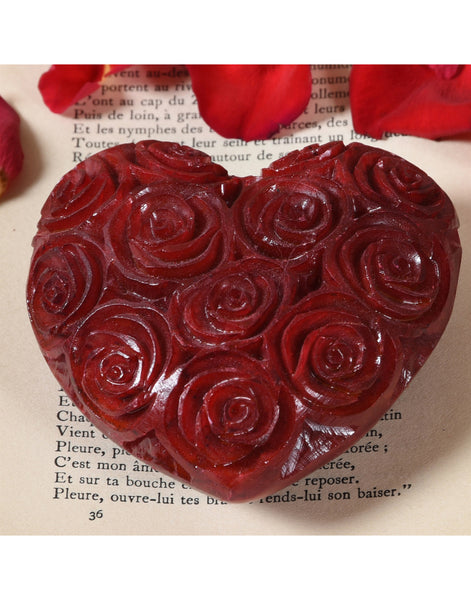 Soapstone Carved Heart