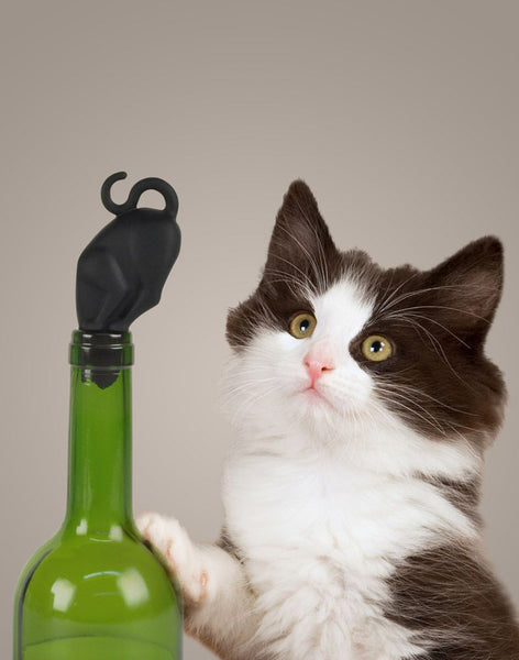 Stop Kitty Wine Stopper