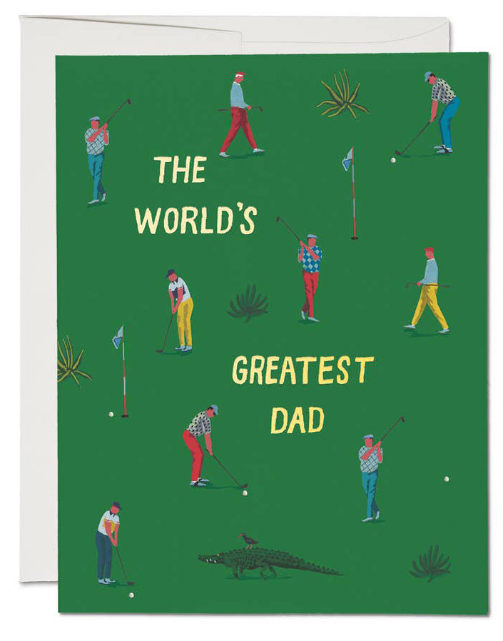 Greatest Golf Dad Card