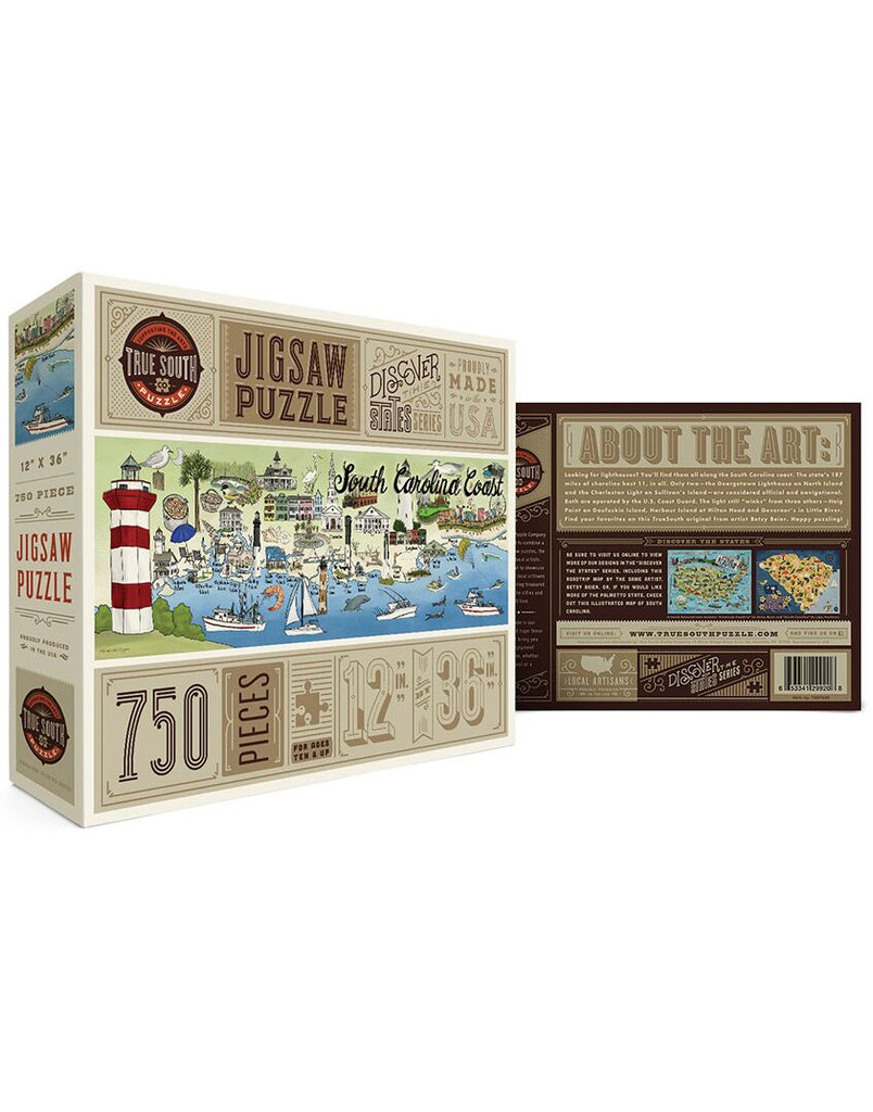 South Carolina Coast Puzzle