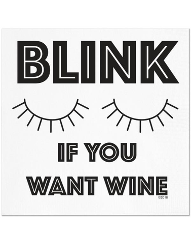 Blink Wine Napkins