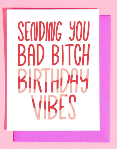 Birthday Vibes Card