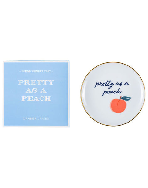 Pretty As A Peach Trinket Dish