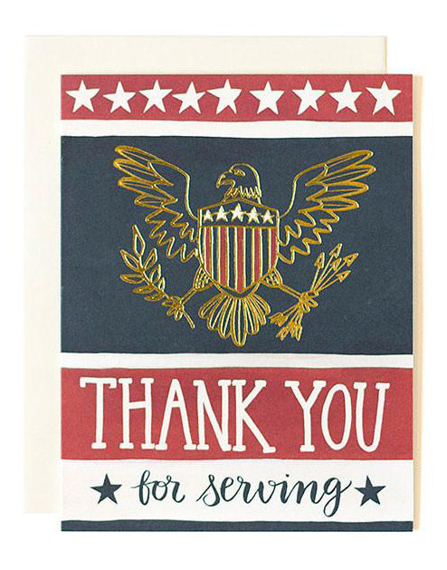 Eagle Thank You Card