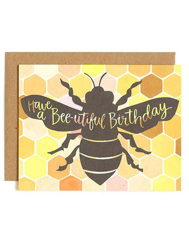Bee-utiful Card