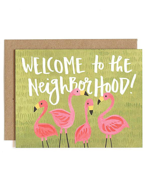 Flamingo Neighborhood Card