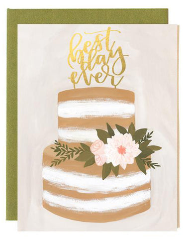 Best Day Ever Cake Card