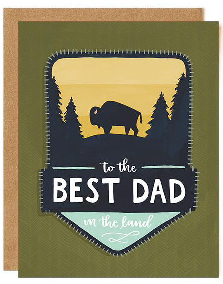 Best Dad in the Land Card