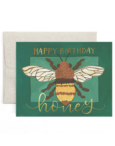 Birthday Honey Card