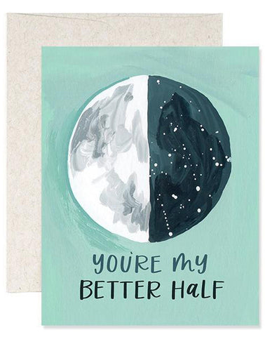 Better Half Moon Card