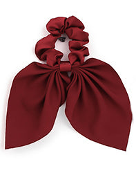 Burgundy Pony Scarf